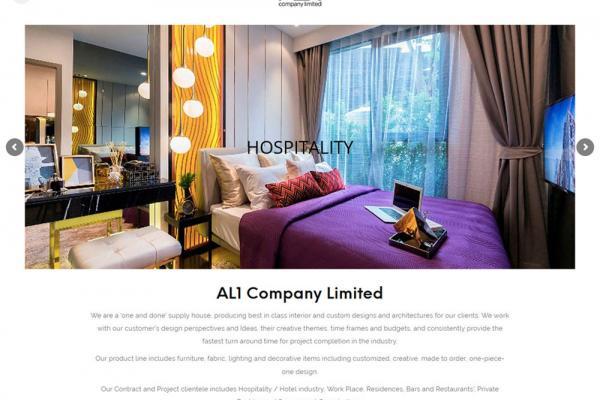 AL1 Company Limited Website